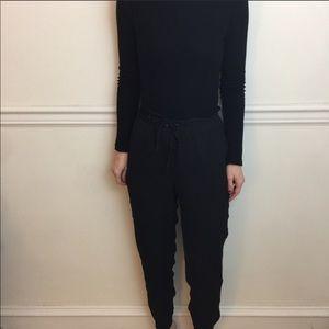 Zara black jogger/slacks
